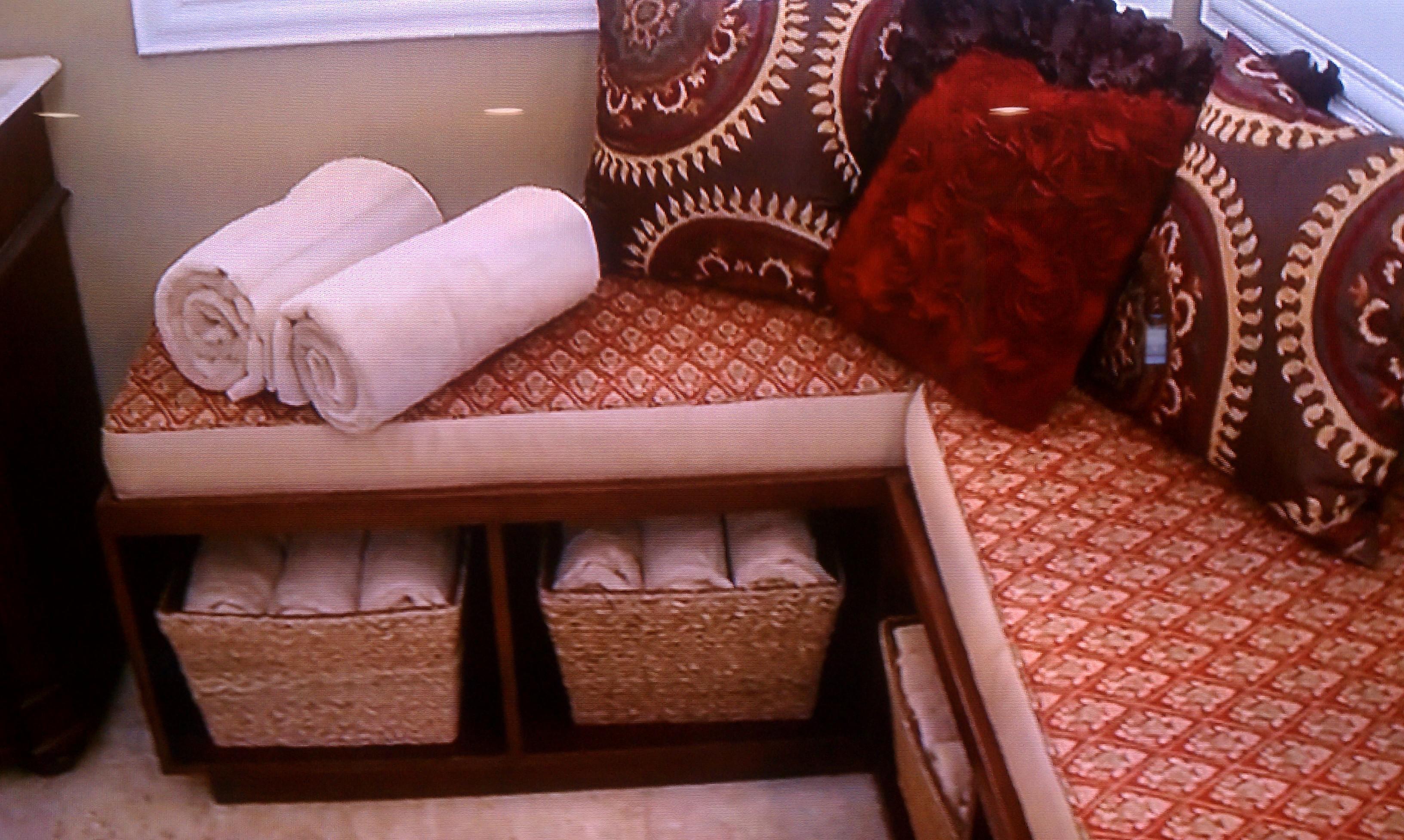 Bench Seat With Storage Underneath